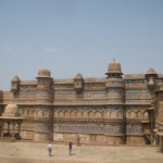 gwalior ka kila history in hindi