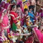 gangaur festival history, puja vidhi, katha in hindi
