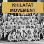 history of khilafat movement in hindi