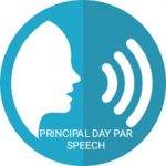Principal day par speech in hindi