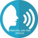 Principal day par speech in hindi